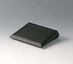 Pultgehäuse COMTEC 200 flach, 200 x 150 x 20 / 42.8, schwarz