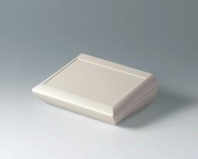 Pultgehäuse COMTEC 200 hoch, 200 x 150 x 40 /62.8, grauweiss mit Batteriefach