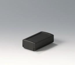Elektronikgehäuse TOPTEC 102 Ausf.1, 102 x 54 x 30, ohne Lüftungsschlitze, schwarz