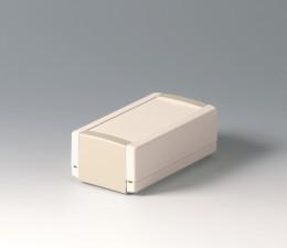 Elektronikgehäuse TOPTEC 123 hoch, Ausf.1, 123 x 68 x 45, grauweiss / Kieselgrau