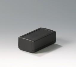 Elektronikgehäuse TOPTEC 123 hoch, Ausf.1, 123 x 68 x 45, schwarz