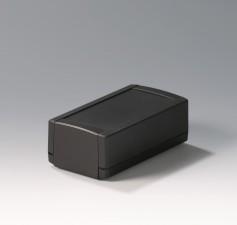 Elektronikgehäuse TOPTEC 154 hoch, Ausf.1, 154 x 84 x 56, schwarz