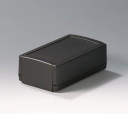 Elektronikgehäuse TOPTEC 194 hoch, Ausf.1, 194 x 115 x 68, schwarz