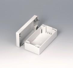 Gehäuseschalen ROBUST-BOX 80 breit, 160 x 80 x 60, lichtgrau