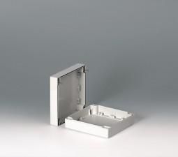 Gehäuseschalen ROBUST-BOX 160 breit, 160 x 160 x 60, lichtgrau