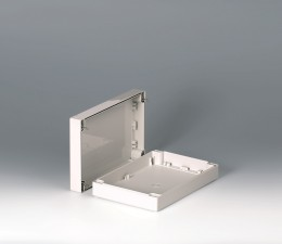 Gehäuseschalen ROBUST-BOX 160 breit, 240 x 160 x 60, lichtgrau