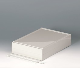 Gehäuseschalen ROBUST-BOX 240 breit, 360 x 240 x 80, lichtgrau