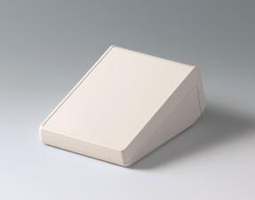 Gehäuse UNITEC S, Oberteil 0.6 Frontteil 0.6, 177 x 125 x 69, grauweiss