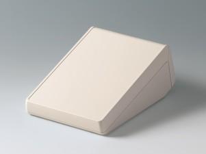 Gehäuse UNITEC M, Oberteil 0.6 Frontteil 0.6, 210 x 148 x 80, grauweiss