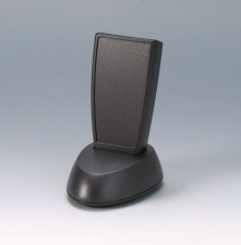 Gehäuse SMART-CASE M, 96 x 47 x 24, schwarz mit Sockel