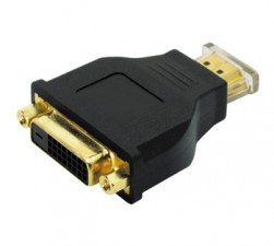 Adapter HDMI male auf DVI female
