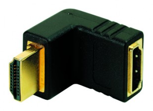 Winkeladapter 90° HDMI male auf HDMI female