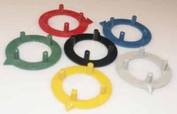 Pfeilscheibe zu Knopf ⌀14.5mm, schwarz