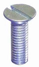 Schraube M4 x 6mm, Stahl vernickelt