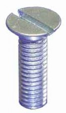 Schraube M3 x 20mm, Stahl vernickelt