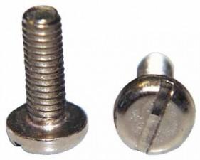 Schraube M3 x 6mm, Stahl vernickelt