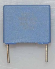 Wickel- und Folienkondensatoren, 100 V,  Polycarbonat,  6.8µf