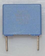 Wickel- und Folienkondensatoren, 250V, Polycarbonat,  0,1µf