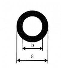 Messingrohre, D: 5mm, d: 3mm, L: 1m