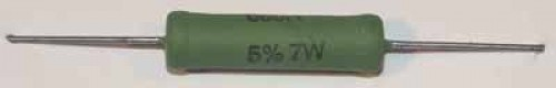 Keramik-Drahtwiderstände, 7 Watt, 15 Ohm