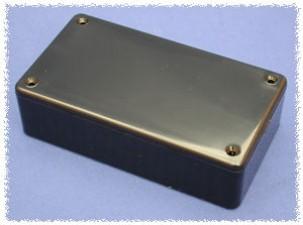 Kunststoffgehäuse schwarz, 85 x 56 x 35 mm