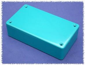 Kunststoffgehäuse blau, 120 x 65 x 36 mm