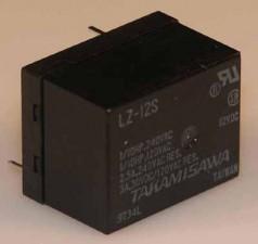 Miniaturrelais, für Starkstrom, Dual  In Line Relais, 24 VDC, 1280 Ohm