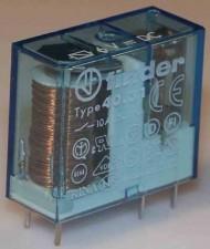 Printrelais 4,4-9V, 1 Umschaltkontakt, 10A / 250 V AC, AA 5.0mm