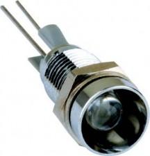 Signalsensoren Ø5mm  Metallfassungen, CuZn verchromt