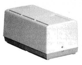 Reglergehäuse, grauweiss, kieselgrau, 136 x 72 x 62 mm