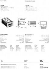 Summenzähler 220V AC, Schlüsselrückstellung