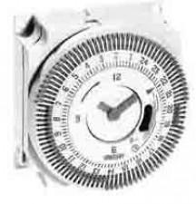 Mechanisches Zeitschaltmodul, Tagesprogramm, Netzsynchron