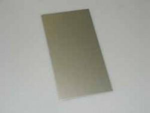 Abdeckungsplatte, Alu Eloxiert 165 x 89 mm