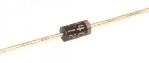Dioden, 1N4002, 100V, DO-41