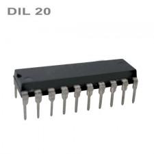 74hc574p (DIL-20p), L/H