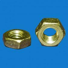 Sechskantmutter M2, Stahl, DIN 439 / ISO 4035