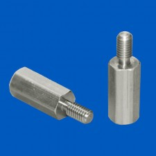 Abstandsbolzen M3x15, Aluminium