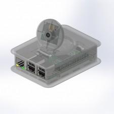 Kunststoffgehäuse, Tek Cam+.0, 100.6 x 73.5 x 38.5 mm, transparent