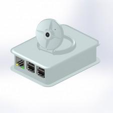 Kunststoffgehäuse, Tek Cam+.40, 100.6 x 73.5 x 38.5 mm, weiss