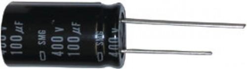 Alu-Elko radial 100 uF 50 VDC