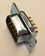 Stecker 9-polig mit Lötanschlussen