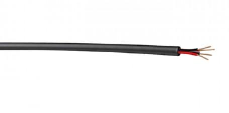 Lautsprecherkabel, Speakonflex, 4 x 2.5 mm², Ø aussen 11,2 mm hochflexibel, schwarz